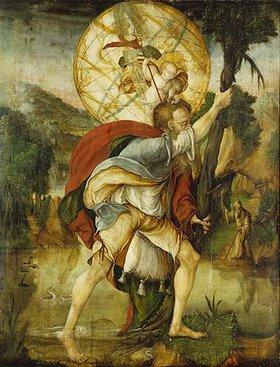 Meister von Messkirch: Der hl. Christophorus
