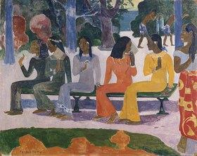 Paul Gauguin: Ta Matete (Der Markt)
