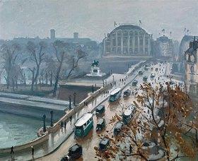 Albert Marquet: Pont Neuf im Herbst