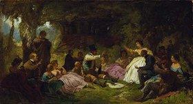 Carl Spitzweg: Das Picknick