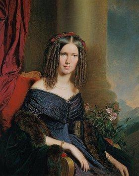 Franz Eybl: Damenbildnis