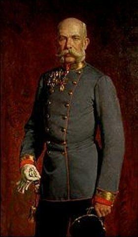 Julius von Blaas: Kaiser Franz Joseph von Österreich in Uniform