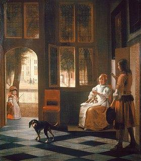 Pieter de Hooch: Der Brief