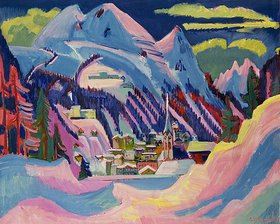 Ernst Ludwig Kirchner: Davos im Winter