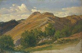 Eduard Wilhelm Pose: Civitella bei Olevano