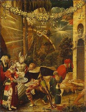 Niklaus Manuel I Deutsch: Die Enthauptung Johannes des Täufers