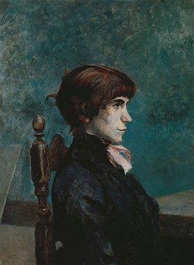 Henri de Toulouse-Lautrec: Sitzende junge Fr
