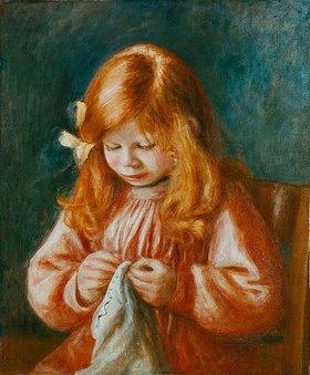 Auguste Renoir: Nähendes Kind