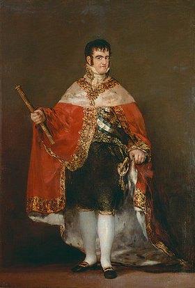 Francisco José de Goya: Ferdinand VII. von Spanien