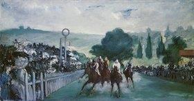 Edouard Manet: Pferderennen in Longchamps