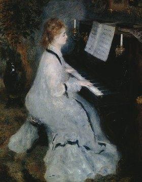 Auguste Renoir: Junge Dame am Piano