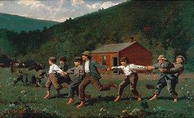 Winslow Homer: Spielende Knaben (Snap the Whip)