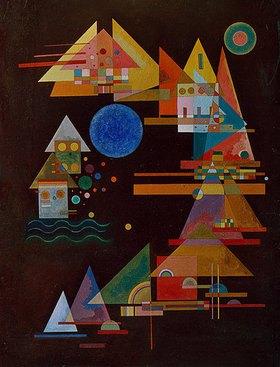 Wassily Kandinsky: Spitzen im Bogen