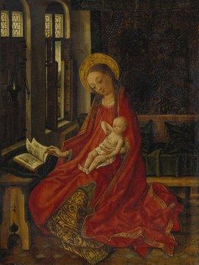 Martin Schongauer: Maria mit Kind im Gemach