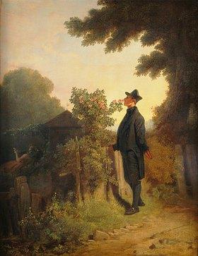 Carl Spitzweg: Rosenduft-Erinnerung