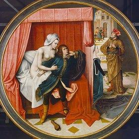 Meister der Josephslegende: Joseph und das Weib des Potiphar