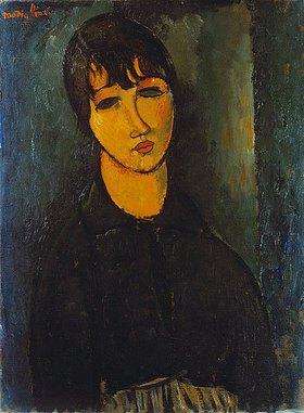Amadeo Modigliani: Bildnis eines Dienstmädchens