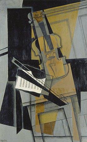 Juan Gris: Die Violine (Le violon)