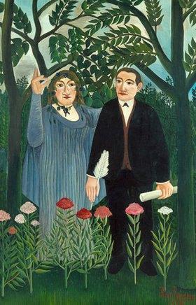 Henri Rousseau: Der Poet Apollinaire und seine Muse