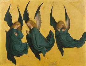 Meister des Hausbuches: Schwebende Engel