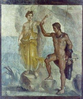Pompeji: Perseus befreit Andromeda