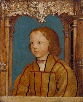 Ambrosius Holbein: Bildnis eines Knaben mit blondem Haar