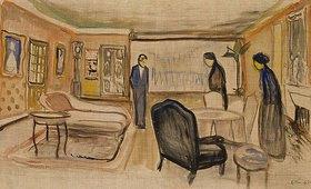 Edvard Munch: Szene aus Ibsens Gespenster