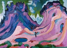 Ernst Ludwig Kirchner: Amselfluh
