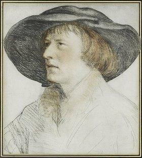 Hans Holbein d.J.: Der Mann mit dem Schlapphut
