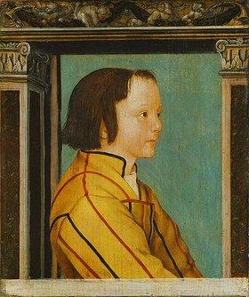 Ambrosius Holbein: Bildnis eines Knaben mit braunem Haar