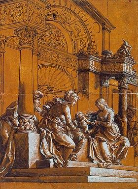 Hans Holbein d.J.: Die heilige Sippe