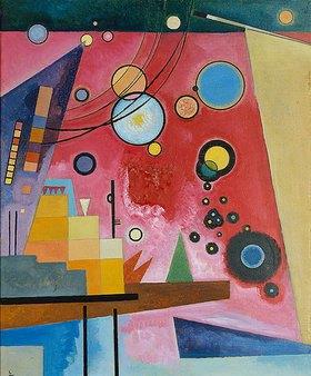 Wassily Kandinsky: Schweres Rot