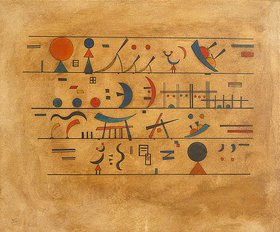Wassily Kandinsky: Zeichenreihen