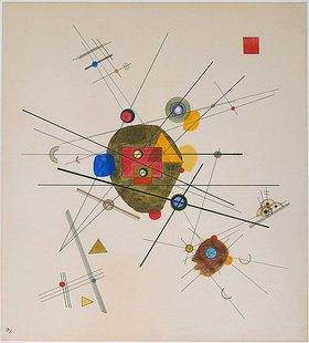 Wassily Kandinsky: Komposition 1923 (III)