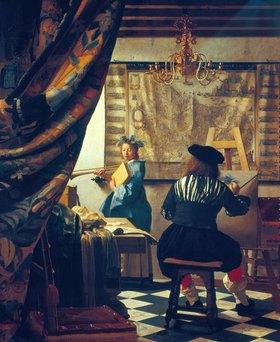 Jan Vermeer van Delft: Die Malkunst