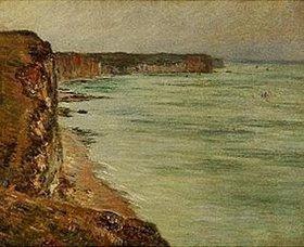 Claude Monet: Küste bei Fécamp (Temps calme)