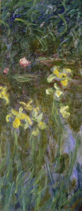 Claude Monet: Gelbe Lilien