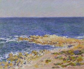 Claude Monet: La grande Bleue à Antibes. 1888 (?)