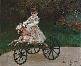 Claude Monet: Jean auf einem Holzpferd