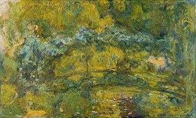 Claude Monet: Der Steg über den Seerosenteich (Le passerelle sur le bassin aux nymphéas)