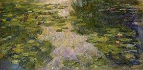 Claude Monet: Le bassin aux nymphéas