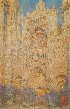 Claude Monet: Die Kathedrale von Rouen, mittags