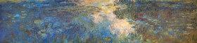 Claude Monet: Le bassin aux nymphéas, Triptychon