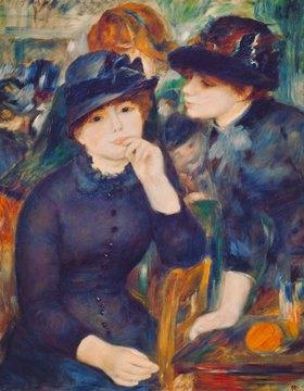 Auguste Renoir: Junge Damen in schwarz