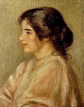 Auguste Renoir: Gabrielle im Profil
