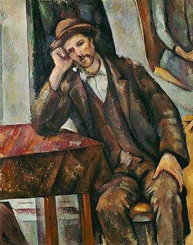 Paul Cézanne: Mann mit Pfeife