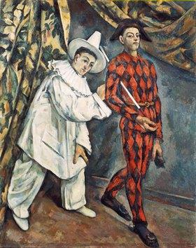 Paul Cézanne: Pierrot und Harlekin (Mardi Gras)