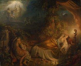 Eugen Napoleon Neureuther: Der Traum der Rezia