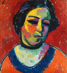 Alexej von Jawlensky: Damenbildnis