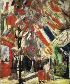 Vincent van Gogh: Der 14.Juli.  1886